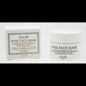 Fresh Rose Face Mask Travel Size 1.5ml